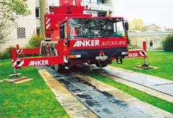 Kunststoff Fahrbahnplatten