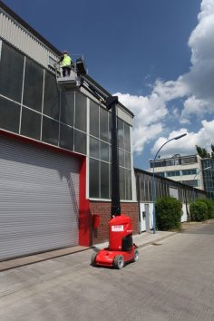 Elektro-Vertikalmast-Arbeitsbühnen mieten I Anker Vermietung